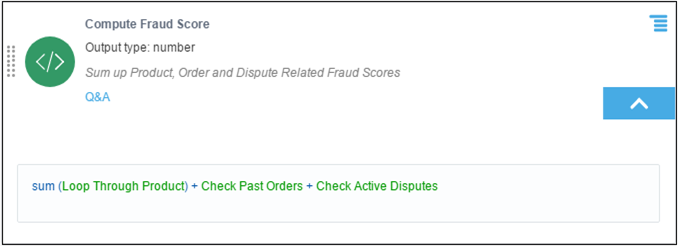 Compute Fraud Score